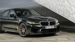 BMW M5 CS 2021, dettaglio del frontale