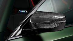 BMW M5 CS 2021, dettaglio dello specchietto