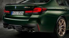 BMW M5 CS 2021, i gruppi ottici posteriori