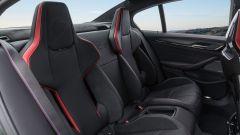 BMW M5 CS 2021, i sedili posteriori