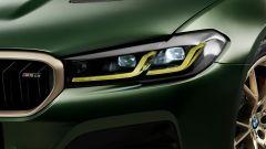 BMW M5 CS 2021, il faro con tecnologia laser