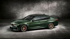 BMW M5 CS 2021, l'assetto è stato ottimizzato