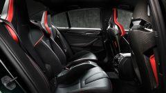 BMW M5 CS 2021, panoramica dei sedili