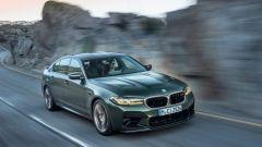 BMW M5 CS 2021, sotto al cofano, un V8 biturbo da 4,4 litri