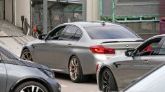 BMW M5 CS: il retrotreno