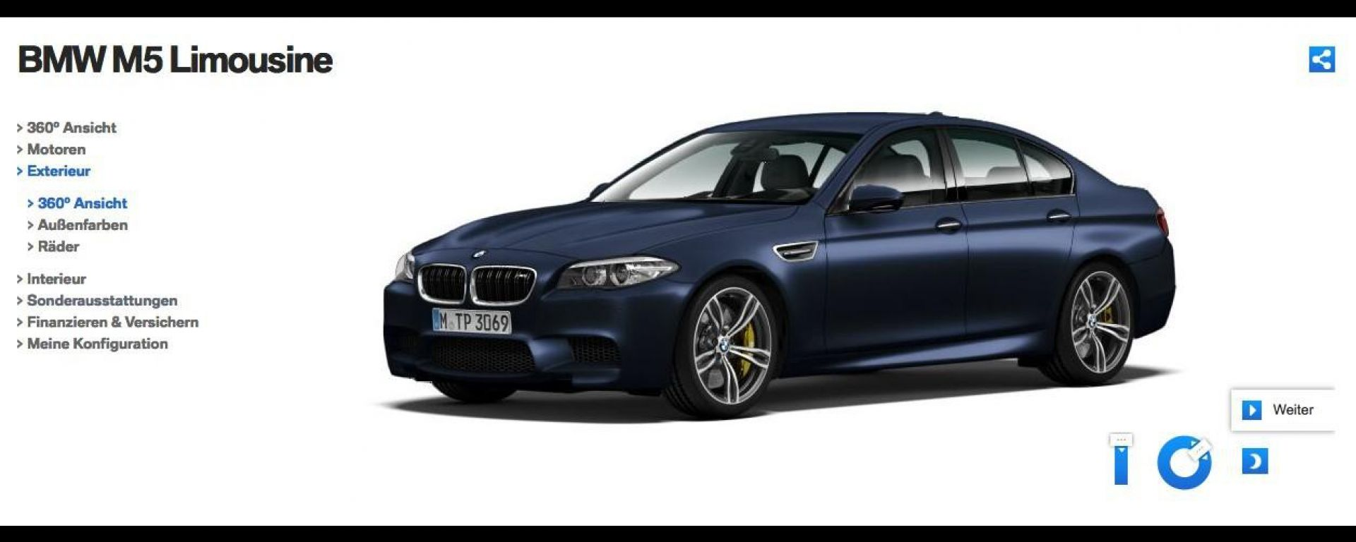 BMW M5, restyling in vista?