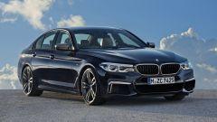 BMW M550i xDrive: all'anteriore ci sono nuove prese d'aria