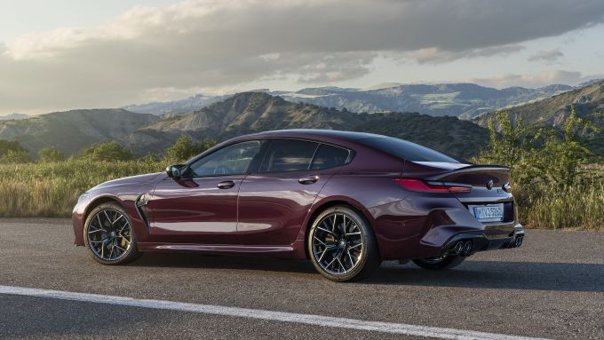 Bmw M8 Gran Coupé competition