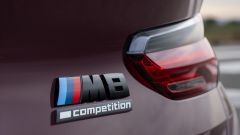 Bmw M8 Gran Coupé e Competition: badge M8 competition