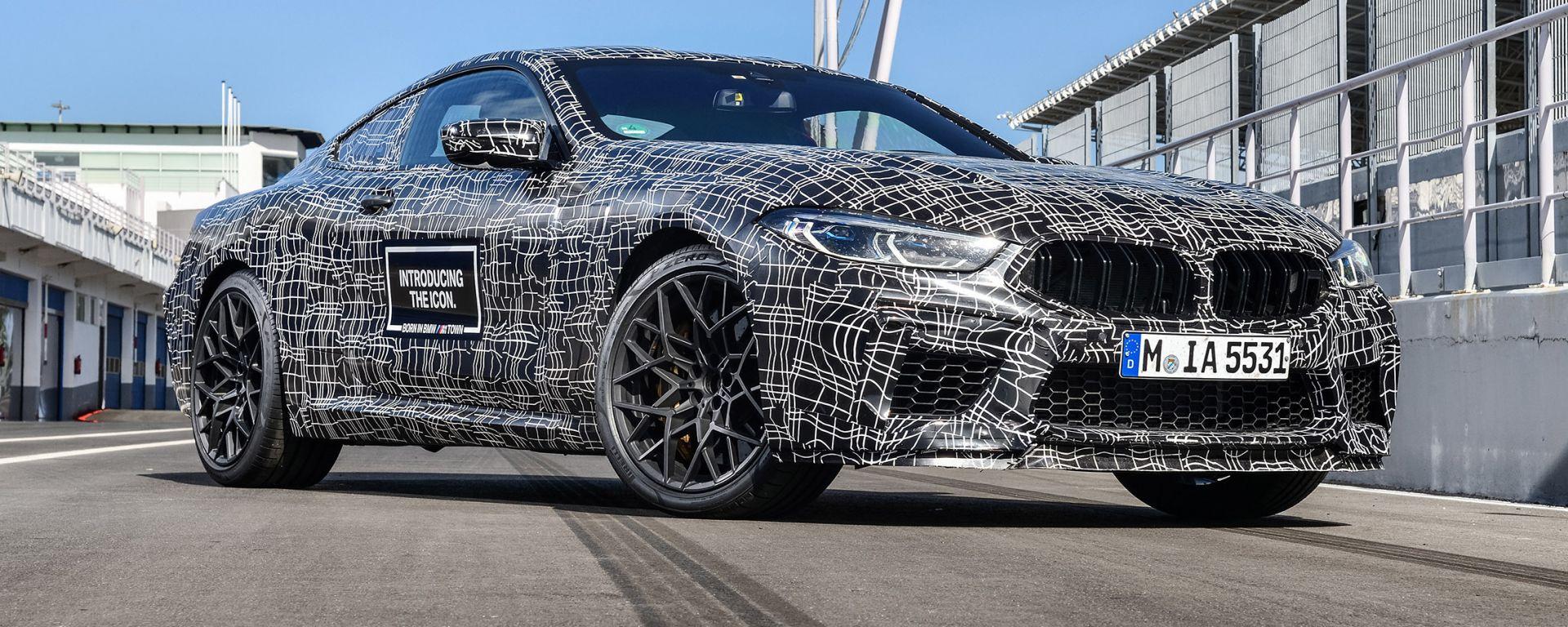 BMW M8: pronta per il Salone di Francoforte 2019