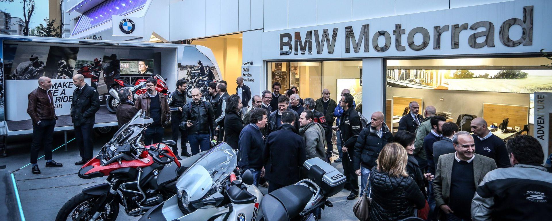 BMW: al via il Make Life a Ride Tour 2016