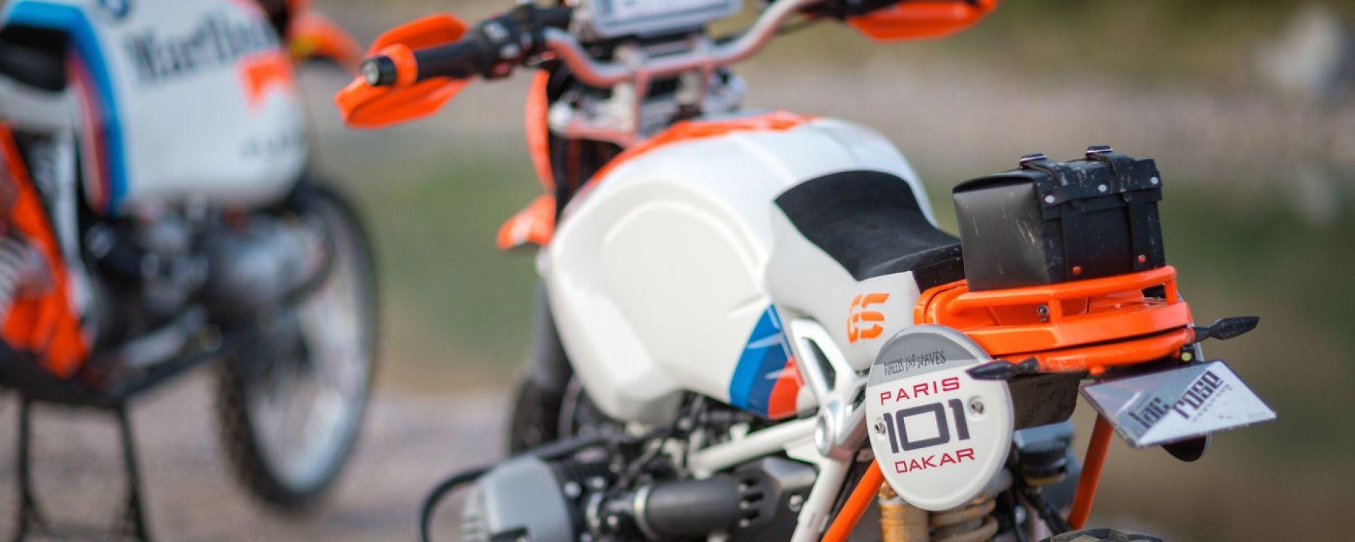 BMW Motorrad: al Wheels and Waves con la concept Lac Rose
