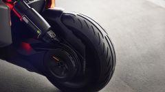 BMW Motorrad Concept Link, trasmissione a cinghia