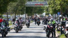 BMW Motorrad Days 2016, l'arrivo a Garmisch