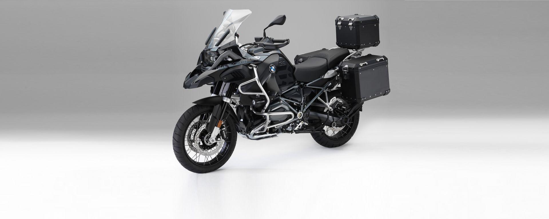 BMW Motorrad Edition Black: i nuovi accessori per BMW R 1200 GS e R 1200 GS Adventure