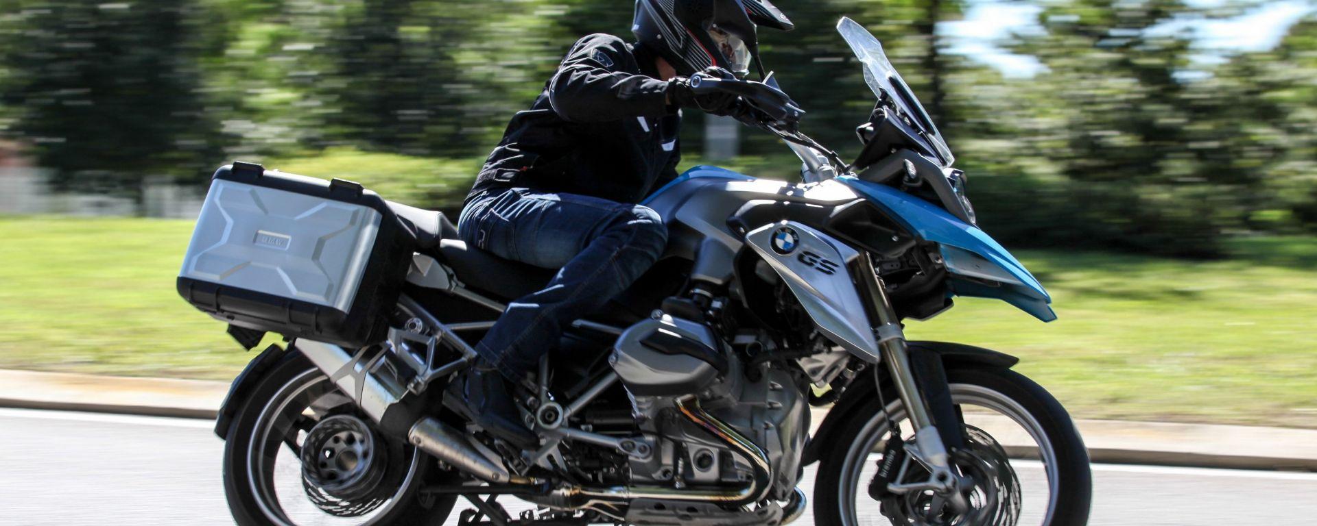 BMW Motorrad: l'ABS Pro arriva su GS, S1000 RR e S1000 XR