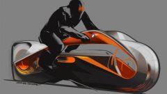 BMW Motorrad Vision Next 100, sketch