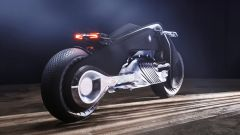 BMW Motorrad Vision Next 100, trasmissione a cardano