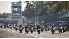 BMW NEXT 100 Festival, moto in parata sul circuito di Monza