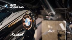 BMW Motorrad: i sistemi audio e la nuova partnership con Marshall