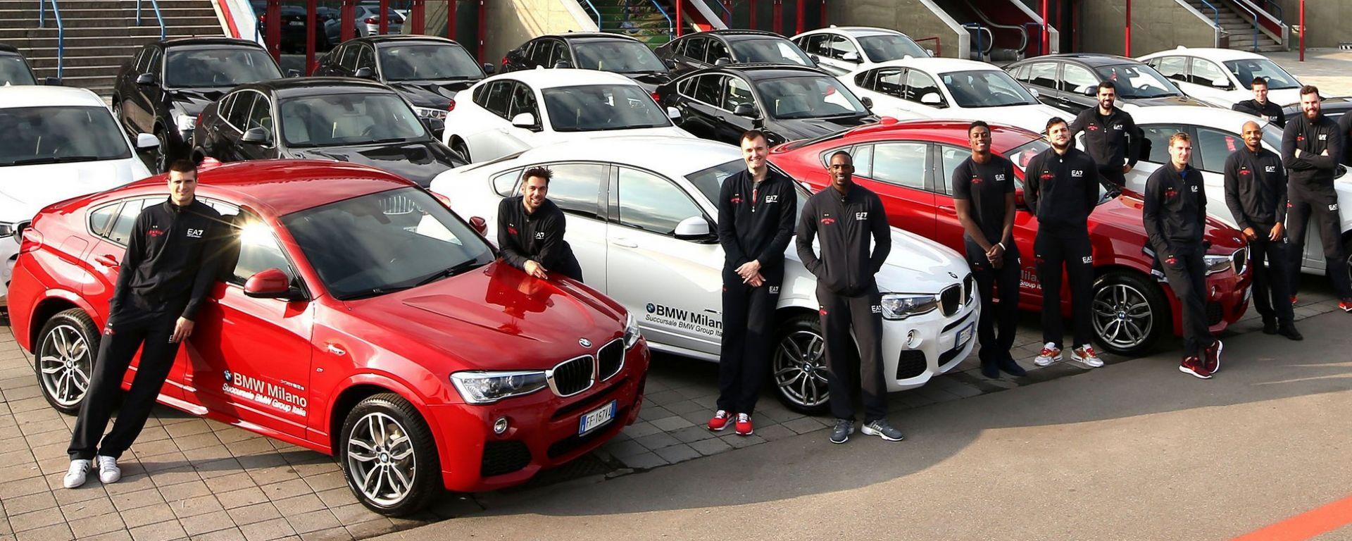 EA7 Olimpia Milano: la squadra mette il turbo con Bmw