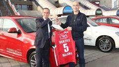 EA7 Olimpia Milano: la squadra mette il turbo con Bmw - Immagine: 2