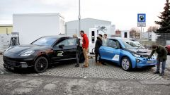 Auto elettrica, da BMW e Porsche colonnina per ricarica in 3 minuti
