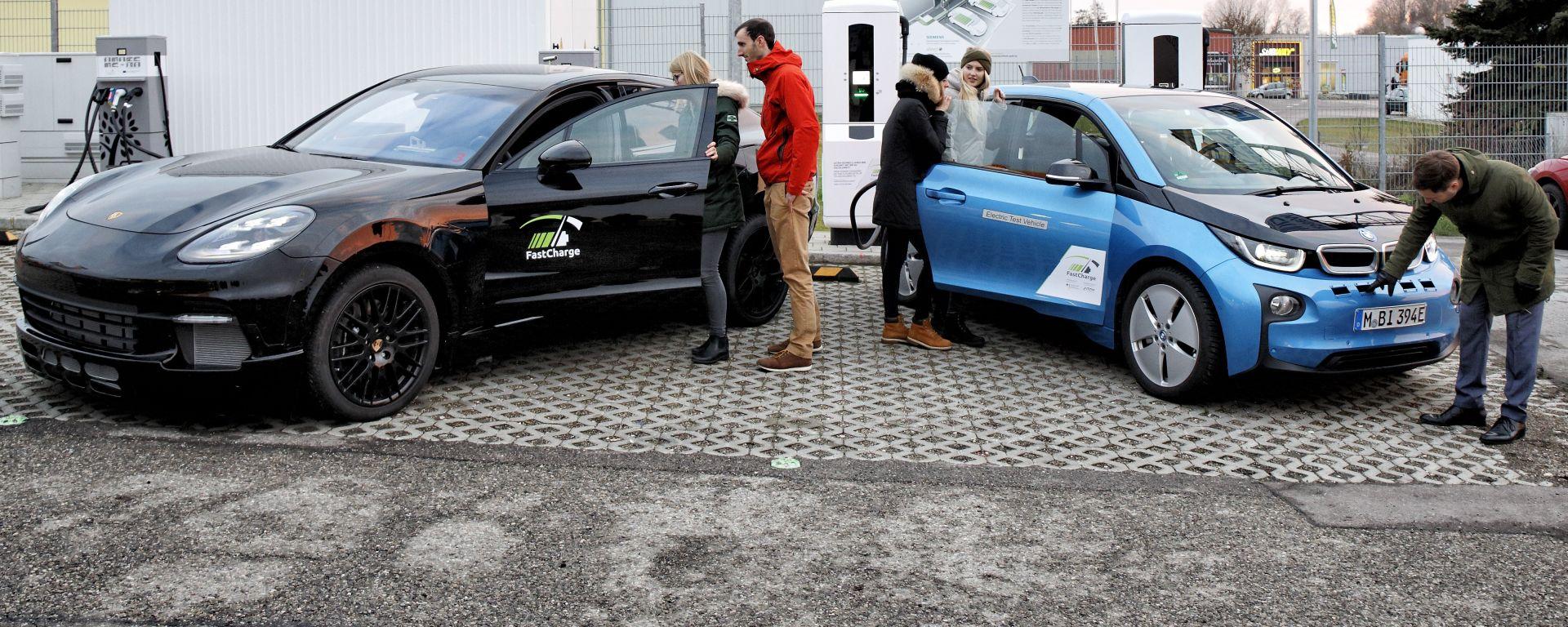 BMW-Porsche, ecco la stazione di ricarica ultra rapida per auto elettriche