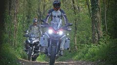 BMW R 1200 GS Adventure contro Ducati Multistrada 1200 Enduro