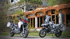 Ducati vs BMW: Multistrada 1200 Enduro sfida R 1200 GS Adventure - Immagine: 22
