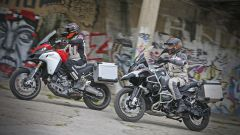 Ducati vs BMW: Multistrada 1200 Enduro sfida R 1200 GS Adventure - Immagine: 3