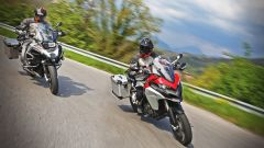Ducati vs BMW: Multistrada 1200 Enduro sfida R 1200 GS Adventure - Immagine: 5