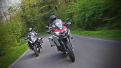 Ducati vs BMW: Multistrada 1200 Enduro sfida R 1200 GS Adventure - Immagine: 1