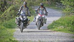 Ducati vs BMW: Multistrada 1200 Enduro sfida R 1200 GS Adventure - Immagine: 18