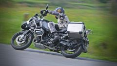 BMW R 1200 GS Adventure in piega