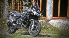 BMW R 1200 GS Adventure vista laterale