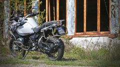 BMW R 1200 GS Adventure vista posteriore