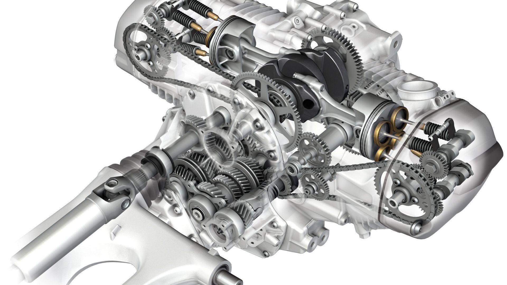 Tecnica Bmw R 1200 Gs Il Motore Ai Raggi X Motorbox