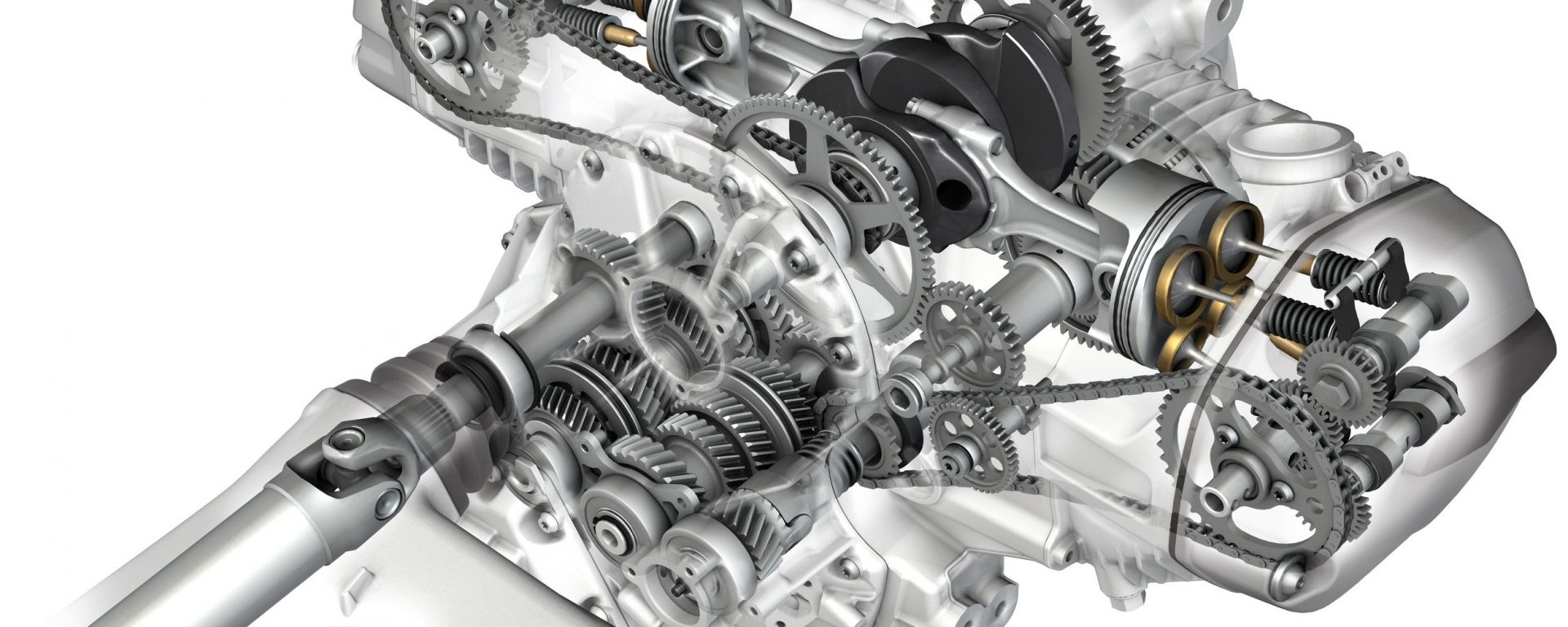 BMW R 1200 GS: il motore ai raggi X
