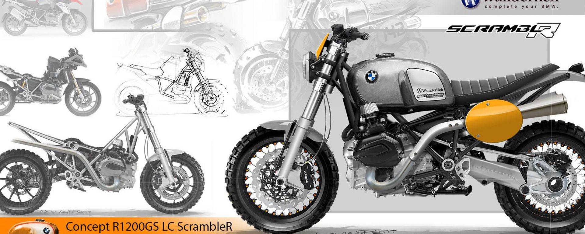 BMW R 1200 GS LC ScrambleR Concept