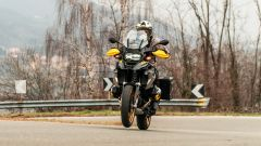 BMW R 1250 GS 2021 edizione 40 Years: in Dynamic spinge davvero forte...
