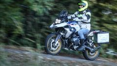 BMW R 1250 GS: 249 kg in ordine di marcia