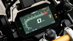 BMW R 1250 GS 40 Years 2021: display TFT con sistema Connectivity