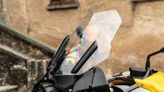 BMW R 1250 GS 40 Years 2021: il plexiglass maggiorato, optional compreso nel kit passeggero