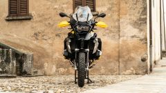 BMW R 1250 GS 40 Years 2021: l'ingombro laterale è quasi tutto del boxer