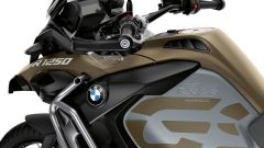 BMW R 1250 GS Adventure: dettaglio del serbatoio