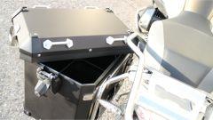 BMW R 1250 GS Adventure: dettaglio delle borse