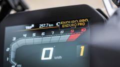 BMW R 1250 GS HP: il display TFT da 6,5 pollici