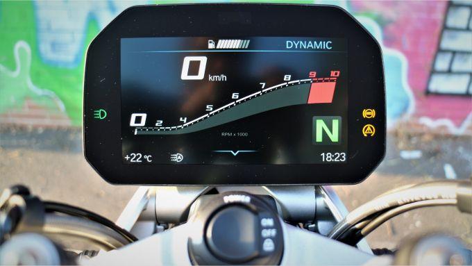 BMW R 1250 R 2019: il quadro strumenti