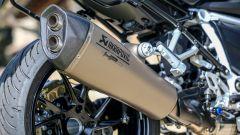BMW R 1250 R 2019: lo scarico opzionale Akrapovic